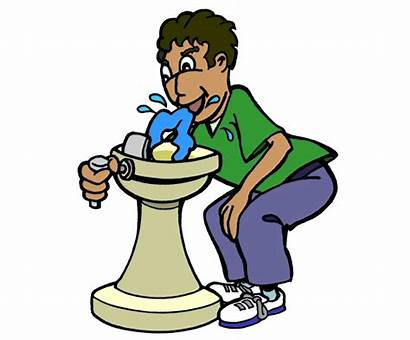 Fountain Water Clipart Drinking