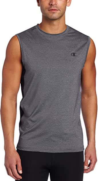 Amazon.com: Champion Men's Double Dry Fitted Muscle Tee