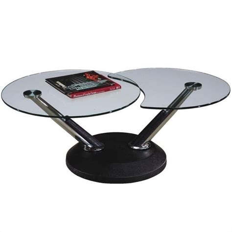Office Supplies Modesto by Magnussen Modesto Swivel Free Form Glass Top Cocktail