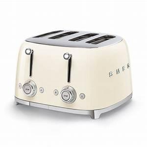 Smeg Toaster Creme : smeg 4 slices toaster tsf03 connox ~ A.2002-acura-tl-radio.info Haus und Dekorationen