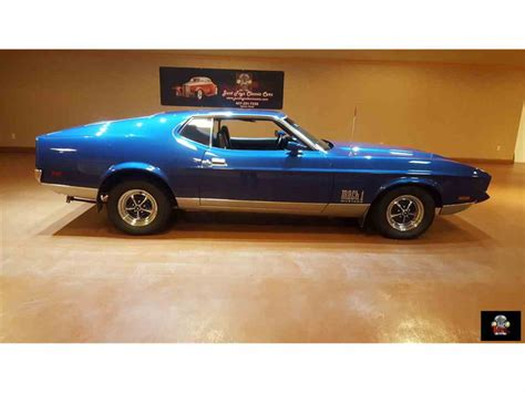 1971 Ford Mustang Mach 1 For Sale Classiccarscom Cc