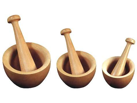 cuisine et recettes mortier de cuisine bois ø 10 cm avec pilon