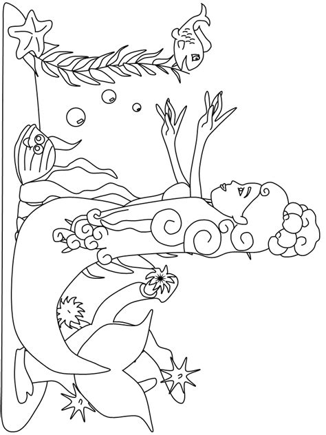 Kizi Kleurplaten by Mermaid 3 Coloring Pages Coloring Page Book For