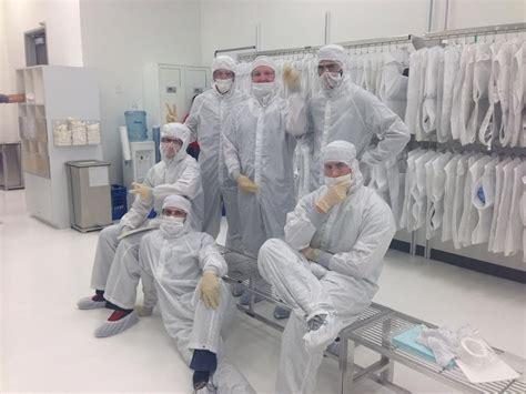 Lam interns having fun in the... - Lam Research Office ...
