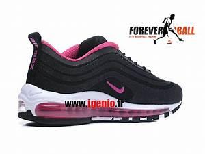 Chaussure Pour Femme Pas Cher : nike air max 97 gs chaussures de running pas cher pour femme fille noir rose 1803230950 ~ Dode.kayakingforconservation.com Idées de Décoration