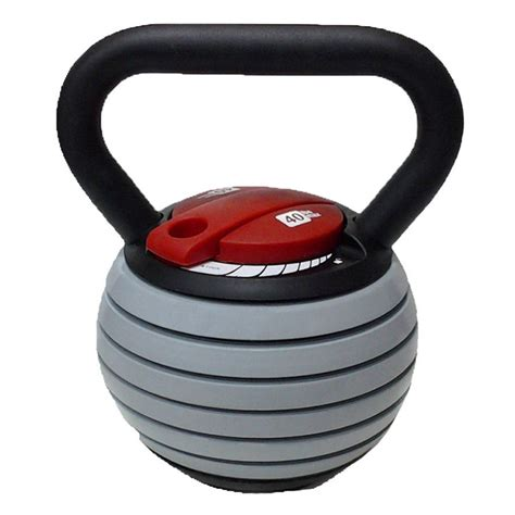 kettlebell adjustable lb weights weight cff lbs pound russian exercise 40lb includes dvd 40lbs equipment increments