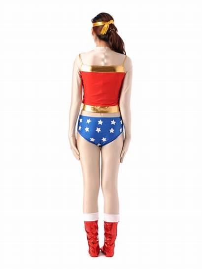 Wonder Woman Cosplay Costume Spandex Bodysuit Lycra