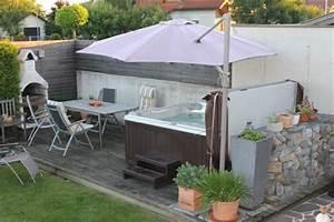 whirlpool fur dachterrasse einige wellness vorschlage With whirlpool garten mit zeitschrift balkon und terrasse