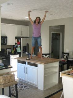 installing wine cooler in existing cabinet diy kitchen island from stock cabinets diy home