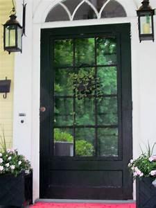 Glass Panel Exterior Door - Interior Design