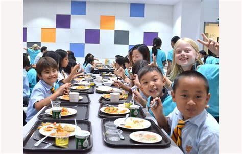 school lunches  british school  guangzhou
