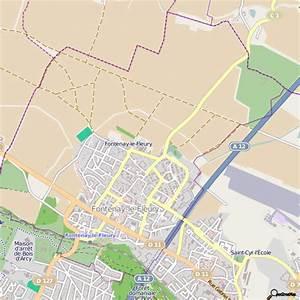 plan fontenay le fleury carte ville fontenay le fleury With serrurier fontenay le fleury
