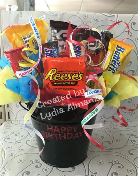 birthday candy bouquet  images birthday candy