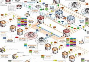 visio detailed network diagram template - network diagram store
