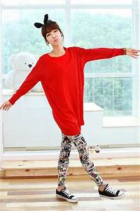 Red Sweaters White Leggings Black Converse Shoes | u0026quot;Have a nice christmas!u0026quot; by likebeauty ...
