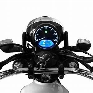 Lcd Digital Backlight Motorcycle Boat Odometer Speedometer Tachometer Mph Gauge