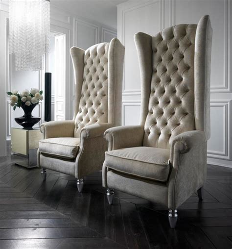 high back chairs for living room