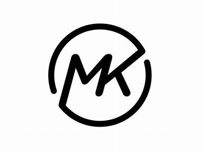 Mk Dribbble Logos Initials Monogram Kuhn Michael