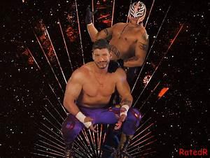 Eddie Gueeruero and Rey Mysterio by RatedRhd2001 on DeviantArt