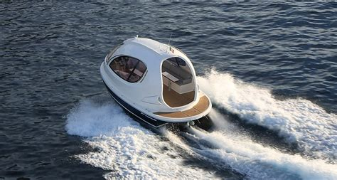 Mini Jet Boat Instagram by Jet Capsule Mini Yacht The Awesomer