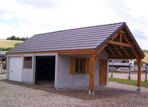 abri de jardin avec auvent abeno beton