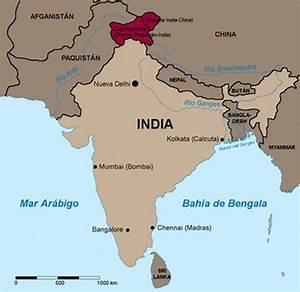 Ubicación Geográfica de la India