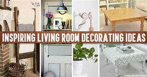 40+ Inspiring Living Room Decorating Ideas – Cute DIY Projects