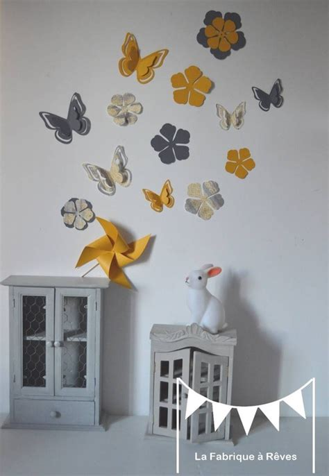 papier peint chambre bébé fille chambres d 39 enfants en jaune et gris