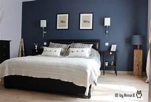 Chambre Bleu Nuit : chambre parentale 32 photos annab18 ~ Melissatoandfro.com Idées de Décoration