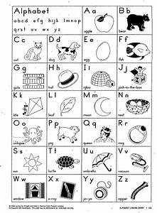 alphabets for kindergarten worksheets releaseboard free With letter charts for kindergarten