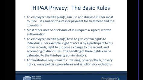 Complying With Hipaa S Privacy Rule
