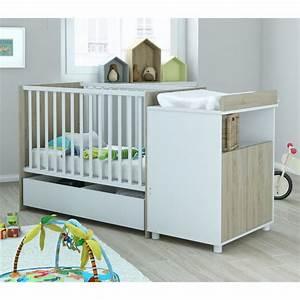 Lit Bébé Avec Tiroir : terre lit bb 60x120 avec tiroir evolutif en lit enfant ~ Melissatoandfro.com Idées de Décoration