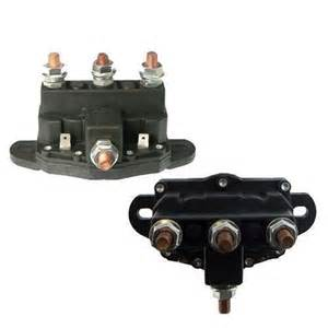 Relay Winch Motor Reversing Solenoid Switch New 12v