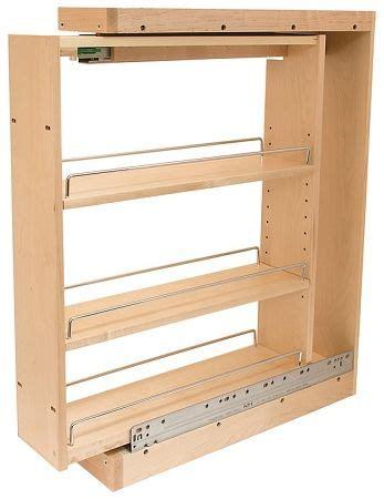 pull  base cabinets filler    wide pull  spice rack base cabinets diy kitchen