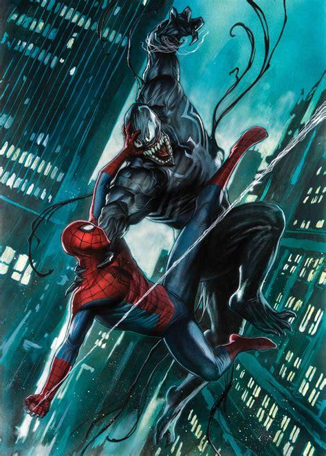 displate marvel venom  final fight ecc comics