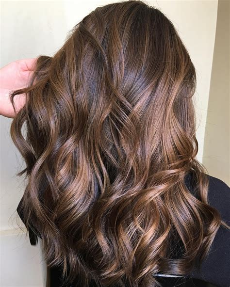 dark brown hair  highlights ideas   hair