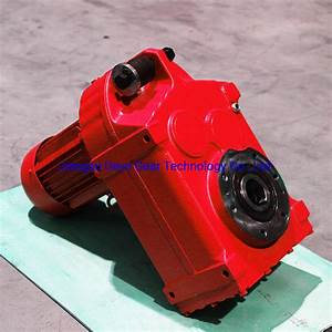 China Precision Speed Reducer F Series Helical Conveyor
