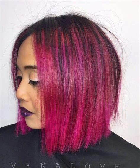 fuschia hair color 1000 ideas about fuschia hair on magenta hair