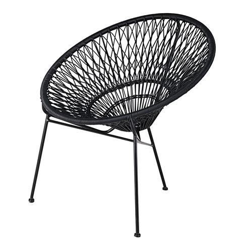 fauteuil de jardin empilable en fil de r 233 sine et m 233 tal