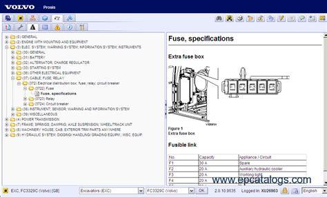 volvo l70e wiring diagram volvo prosis 2009 parts repair