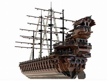 Pirate Ship Lego Moc Flaw Progress