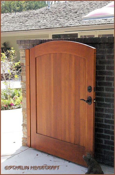 nice wood gate wooden garden gate