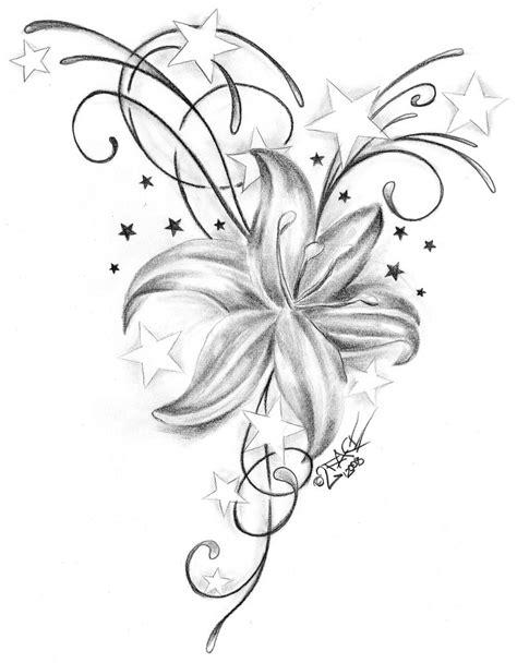 tattoos handgelenk vorlagen kostenlos tattoovorlagen kostenlos blume lilien vorlagen und ideen