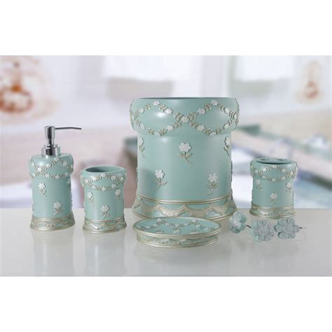 daniels bath  piece bathroom accessory set reviews