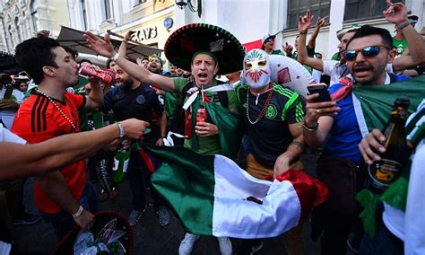 mexico fans party  hard   world cup win