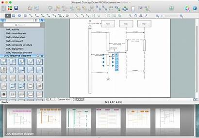 Sequence Uml Diagram Elements Diagrams Draw Sequences