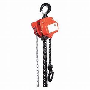 Dayton 29xp27 Manual Chain Hoist 2000 Lb  Lift 10 Ft