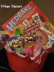 Urban Daisies Family Game Night Basket