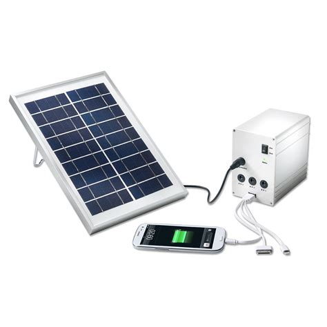 buy portable solar light and charger