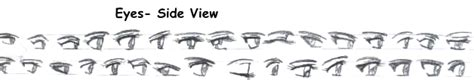 Anime Eyes From The Side Manga Tutorials